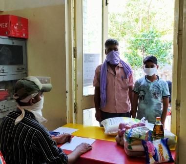 Grocery distribution in Pandemic Covid-19