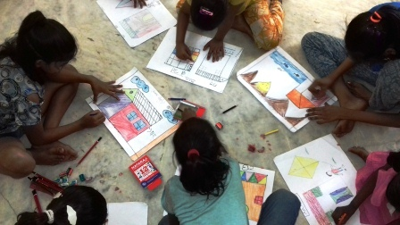 JMC-Summer Camp 2019 - Children Drawing